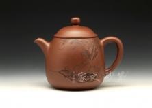 宜兴紫砂壶收藏作品-高潘壶-周桂珍