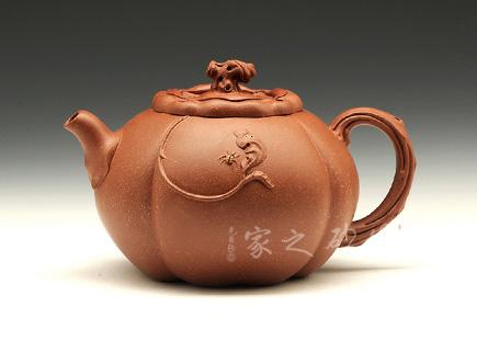 宜兴紫砂壶-秋实-降坡泥-胡仁杰