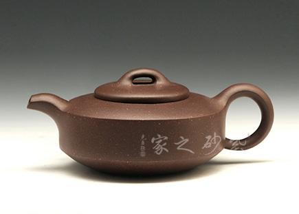 宜兴紫砂壶-汉壁-拼紫-董健