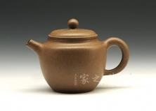 宜兴紫砂壶-段砂小源泉壶-原矿段泥-顾绍培