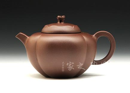宜兴紫砂-秋葵-原矿紫泥-周渊