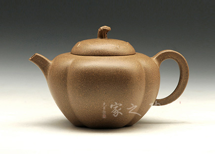 宜兴紫砂壶精品馆作品-周渊-秋葵