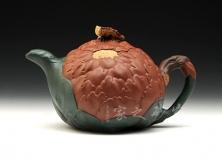 宜兴紫砂壶-牡丹壶-原矿段泥-蒋蓉
