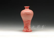 粉红美人肩花瓶