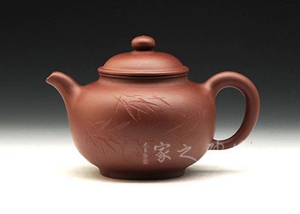 宜兴紫砂壶-掇圆壶-原矿底槽青-程辉