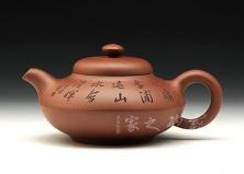 合欢壶(王智明刻绘)