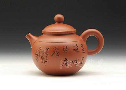镇店老壶-谭晓君-圆珠(谭泉海刻绘)