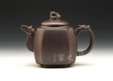 宜兴紫砂壶-至尊(小))-原矿紫泥-程彩华