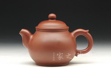 宜兴博亿堂娱乐壶-清影壶-原矿老红泥-张立群