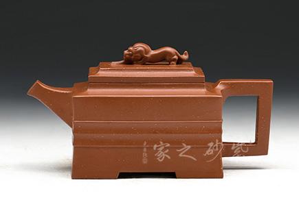 镇店老壶-华健-金狮壶