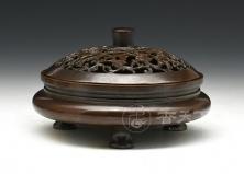 紫砂之家_香天下--扁腹鬲式熏炉