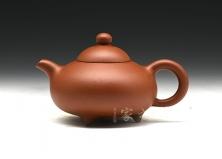 宜兴紫砂壶-小香泉-原矿红泥-顾绍培