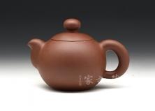 宜兴紫砂壶收藏作品-底槽清芙蓉珠-季益顺