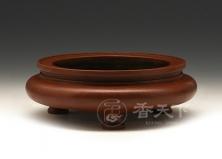 鬲式炉(扁腹大红袍款)