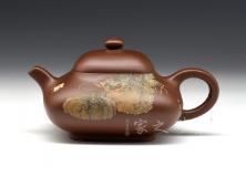 沁香玉炉 (李金强泥绘)