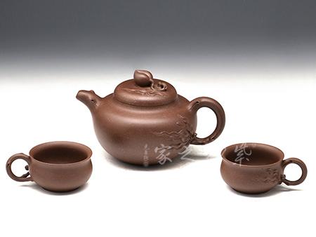 桃壶-原矿紫泥