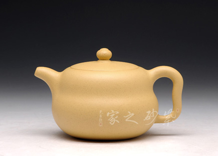 宜兴紫砂-葫芦-原矿黄金段-吴小平