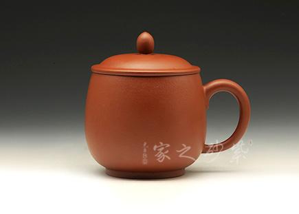紫砂周边-盖杯-非卖品-原矿朱泥-杨瑶芬